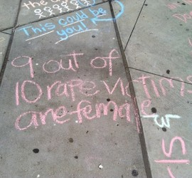 Chalking Event
