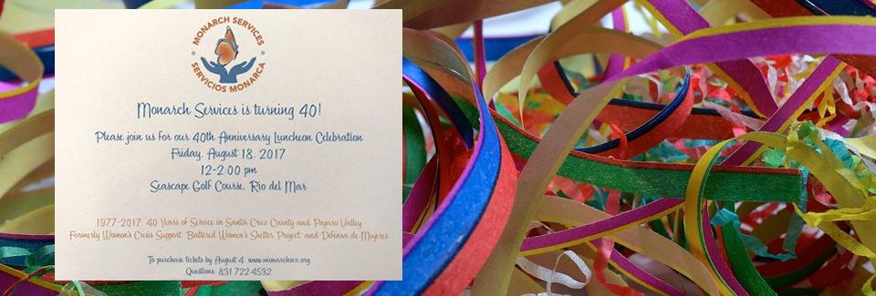 40th Anniversary Luncheon Celebration