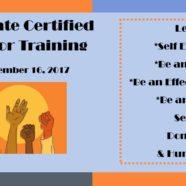65hr Peer Counseling Training