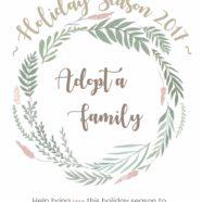 Adopt a Family This Holiday Season 2017