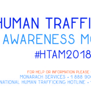 January is National Slavery & Human Trafficking Awareness Month