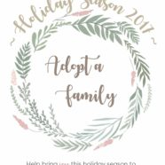 Adopt a Family This Holiday Season 2017